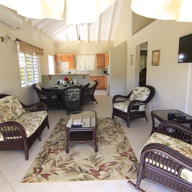 Victory Villas Antigua: living room